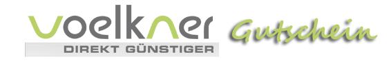 Voelkner Gutschein - Gutscheincode Rabattcode