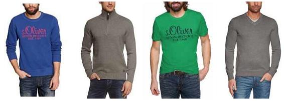 s oliver deals f r m nner hemden t shirts pullover. Black Bedroom Furniture Sets. Home Design Ideas