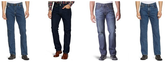 Jeanshosen bei Amazon reduziert
