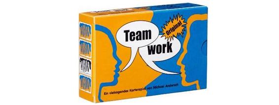 Teamwork billige Geschenkidee und gutes Gesellschaftsspiel