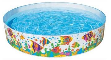 Swimming pool planschbecken ocean reef von intex seeehr for Intex pool billig