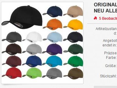 Flexfit Cap und Mütze billig