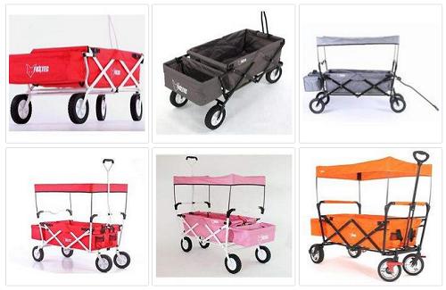 bollerwagen von fuxtec faltbar mit dach versandkostenfrei dealblog schn ppchen gutschein. Black Bedroom Furniture Sets. Home Design Ideas
