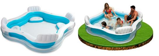 Intex Schwimmcenter für Familien, WGs und Paare