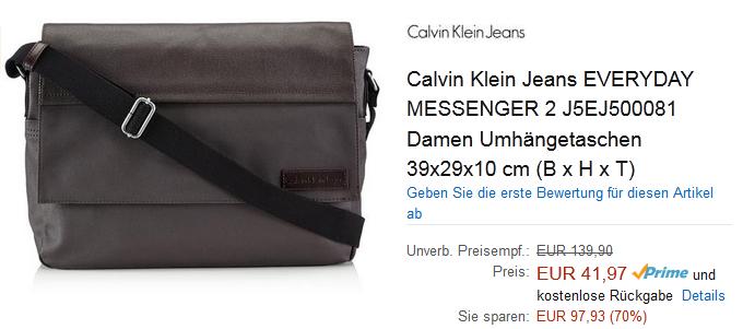 Umh Ngetasche Everyday Messenger Calvin Klein Billig