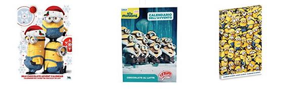 Minions Adventskalender bei Amazon bestellen
