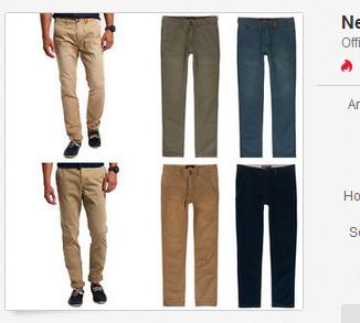 Superdry Hosen Jeans F R M Nner Billig Bei Ebay