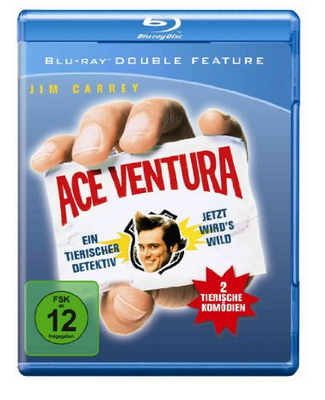 Ace Ventura beide Filme günstig auf Blu-ray