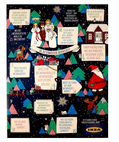 IKEA-Adventskalender - Geschenkidee für Männer & Frauen