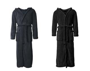 aqua textil bademantel mit kapuze g nstig f r m nner und frauen dealblog schn ppchen. Black Bedroom Furniture Sets. Home Design Ideas