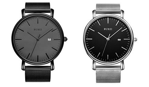 Burei tolle minimalistische Uhren zum Billigpreis
