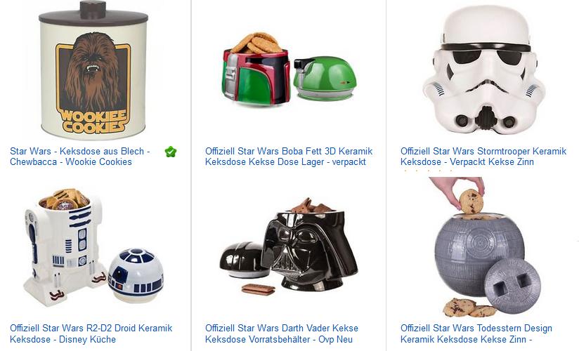 Star Wars Keksdosen bei ebay: Geschenkideen ab 16,45€ mit ...