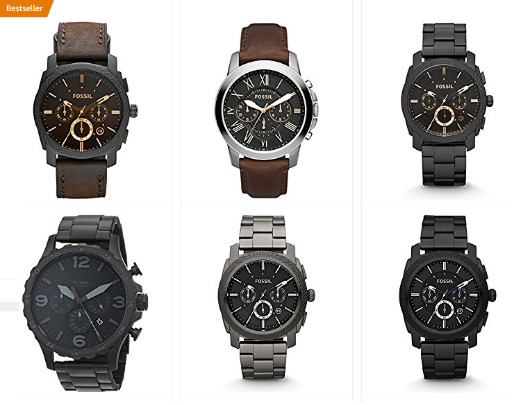 Fossil Armbanduhren für Herren bei Amazon