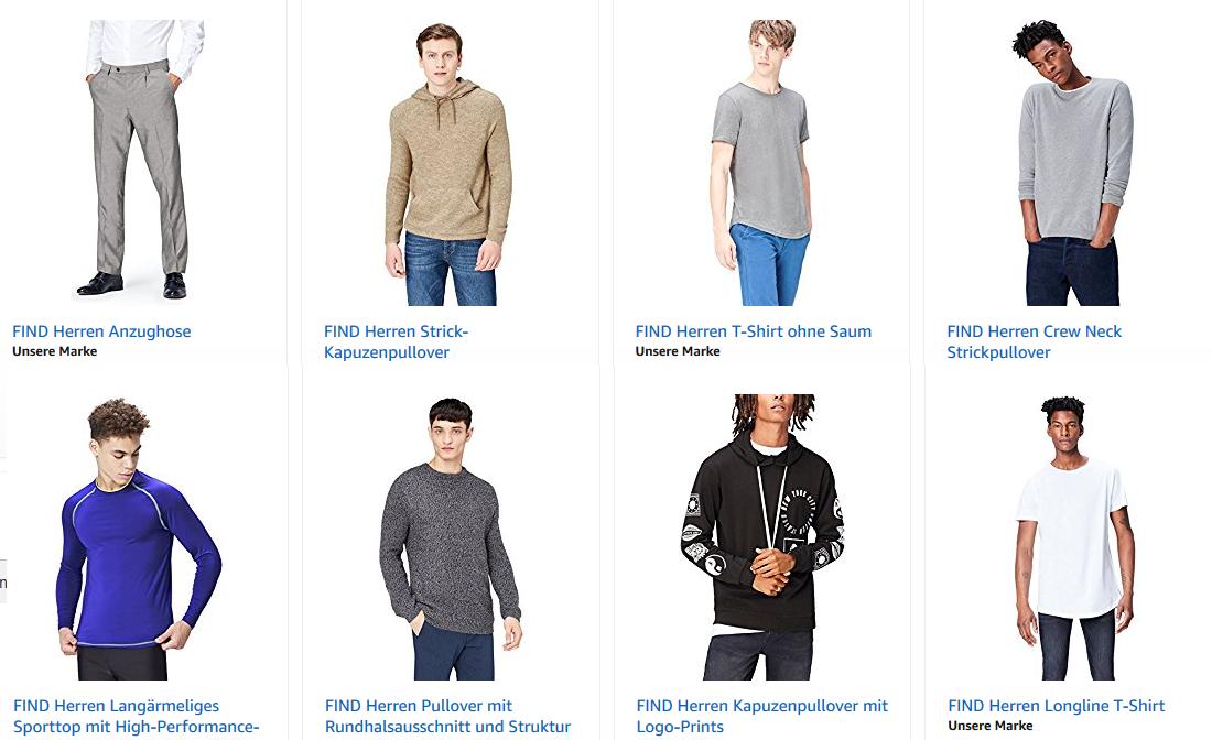 Hammer im Amazon-Sale  FIND Herrenkleidung drastisch reduziert ... 2d65da7a2b