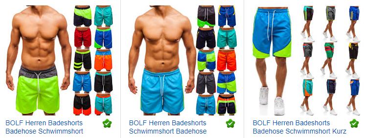 BOLF Badeshorts für Männer bei ebay.de